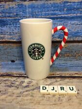 More details for starbucks tall mug with candy cane handle, only used for display