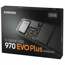 Samsung 970 EVO PLUS 250GB NVMe M.2 Internal SSD Solid State Drive Made in Korea