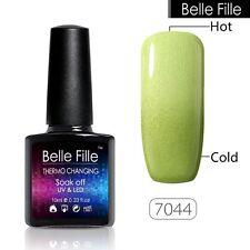 BELLE FILLE Thermal Color-Changing Chameleon Nail Gel Polish Soak-off LED 10ml