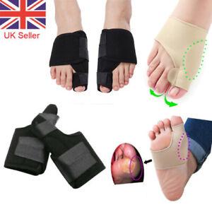 2pcs Big Toe Bunion Protector Support Straightener Valgus Corrector Pain Relief