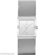DKNY Stainless Steel Round Mesh Bracelet Women's Watch NY2112
