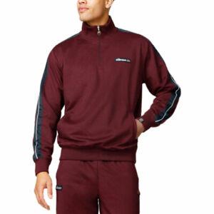 ELLESSE VINIO SHY05249 Mens Tracksuit Tops Long Sleeve Casual Fleece Sweatshirt