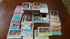 1973/1974 topps basketball card lot approx 195 diff.  some stars  ex+-nrmt