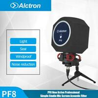 Alctron PF8 Studio Mic Screen Acoustic Filter Desktop Recording Wind Screen New