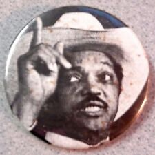 Vintage Reverend JESSE JACKSON BUTTON PIN Baptist Minister Presidential Nominee