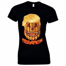 Halloween Costumes Women Scary Horror T-Shirt Trumpkin