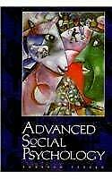 Advanced Social Psychology by Tesser, Abraham