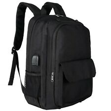 Laptop Backpack 17 inch with USB Charging Port, with Removable Football Net