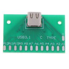 Type C Female Head Test Board Usb 31 Connector Board With Pcb Board W4excav6
