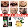 100% Natural Beard Mustache Hair Growth Oil Balm Wax Conditioner Care Oil 30ml