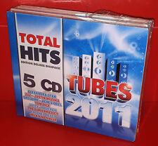 5 CD TOTAL HITS TUBES 2011 - STAN ZAZ OBEL DICE REYEL NOZUKA - SEALED SIGILLATO