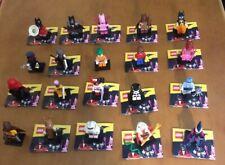 Lego 71017 The Batman Movie Series 1 Minifigures Complete Set