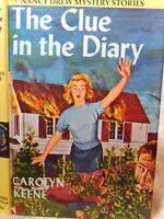 Nancy Drew The Clue in the Diary by Carolyn Keene #7 1962