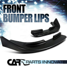 Front Body Upgrade Bumper Lip Spoiler Canard Splitters Flippers L+R