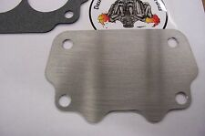 """Fits GTO Tri Power Large Rochester 2GC Big 500 Carb Intake Block Off Plate 062"""""""