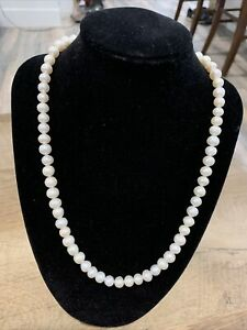 20 Inch Pearl Necklace 7-8mm Pearls