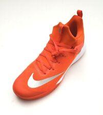 ee43d50fb449 Nike Men s 942802-801 Zoom Shift Mid TB Basketball Shoes Orange White Size  17