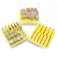 110Pc Mini Diamond Cutting Disc Wheel Saw Blade Burr Bits F Grinding Rotary Tool