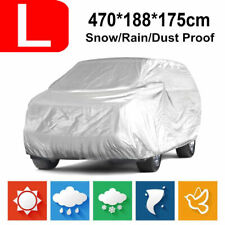 Car SUV Van Truck Full Cover WaterProof In/Out Door Dust Ray Rain Snow Universal