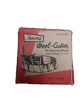 Imra Wool Cutter for Smyrna Work *Length of Thread: 2 1/2-2 3/4 Vintage Germany