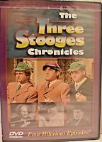 The Three Stooges Chronicles - New Sealed DVD, Free Shipping!