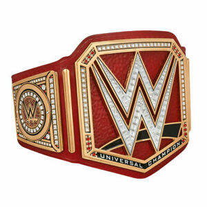 WWE Universal Championship Wrestling Replica Leather Title Belt Adult Size 2mm