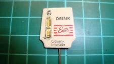 Exota drink citroen limonade pin badge 60's original lapel Dutch speldje
