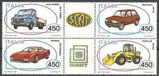 1986 ITALIA AUTO BLOCCO MNH ** - ED