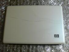 LAPTOP HP DV6 screen white lid black bazel plastic