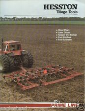 Farm Implement Brochure - Hesston - Tillage Tools Attachments - 1982 (F1369)