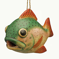 Bird Houses - Trout Bird House - Trout Birdhouse - Lake & Lodge Decor