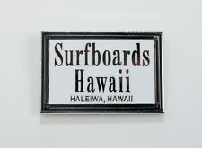 Classic Surf Logo Surfboards Hawaii enamel pins