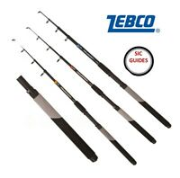 Zebco Telecast T40 T60 T300 All Species Telescopic Fishing Rod FAST TRACKED POST