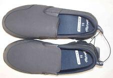 Faded Glory Men's Size 8.5 Shoe-Casual Slip On-Lightweight Memory Foam-Charcoal