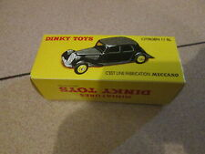 "Boite Vide Repro Dinky Toys # 24N ""Traction Citroen 11BL""/ Empty box only"