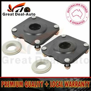 PAIR FRONT STRUT MOUNT & BEARING FOR MAZDA MPV LW 1999-2006