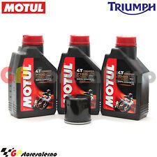 KIT TAGLIANDO OLIO + FILTRO MOTUL 7100 10W60 3L TRIUMPH 675 DAYTONA R 2011