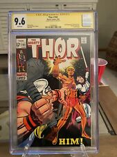 Thor 165 - Cgc 9.6 - Single Highest Graded - SS Lee First App of HIM! Key! MOV