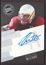 2014 Press Pass Autograph Silver Football #AW Andre Williams BC Eagles AUTO