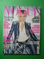 Vogue UK February 2006 Sienna Miller Diana Dondoe Stella Tennant Corinne Day 2