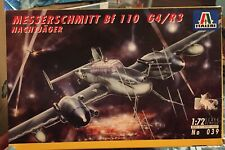 ITALERI 1/72 MESSERSCHMITT Bf 110 G4/R3 NACHTJAGER   039