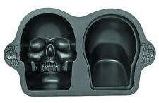 Wilton 3D Skull Pan cake tin Halloween Skeleton Cake NEXT DAY UK DESPATCH