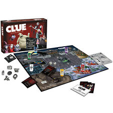 NEW Disney's The Nightmare Before Christmas Clue Mystery Strategy Board Game
