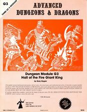 HALL OF THE FIRE GIANT KING G3 EXC! TSR 9018 DUNGEONS & DRAGONS AD&D D&D