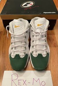 VNDS Reebok Question Mid X Packer Shoes For Player Use Only Lebron Sz 13 Iverson