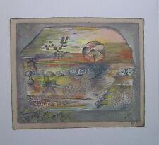 HANS REICHEL  - Carton d invitation - 1974