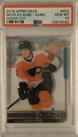 2018 2019 UPPER DECK Nicolas Aube Kubel PSA 10 CLEAR CUT X1 YOUNG GUNS RC ROOKIE
