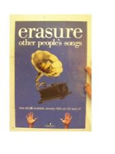 Erasure Poster Other Peoples Songs People's