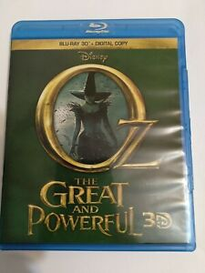 Oz the Great and Powerful (Blu-ray Disc, 2013, 3D)