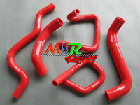 silicone radiator hose kit for Ford Falcon BA BF XR6 Turbo RED